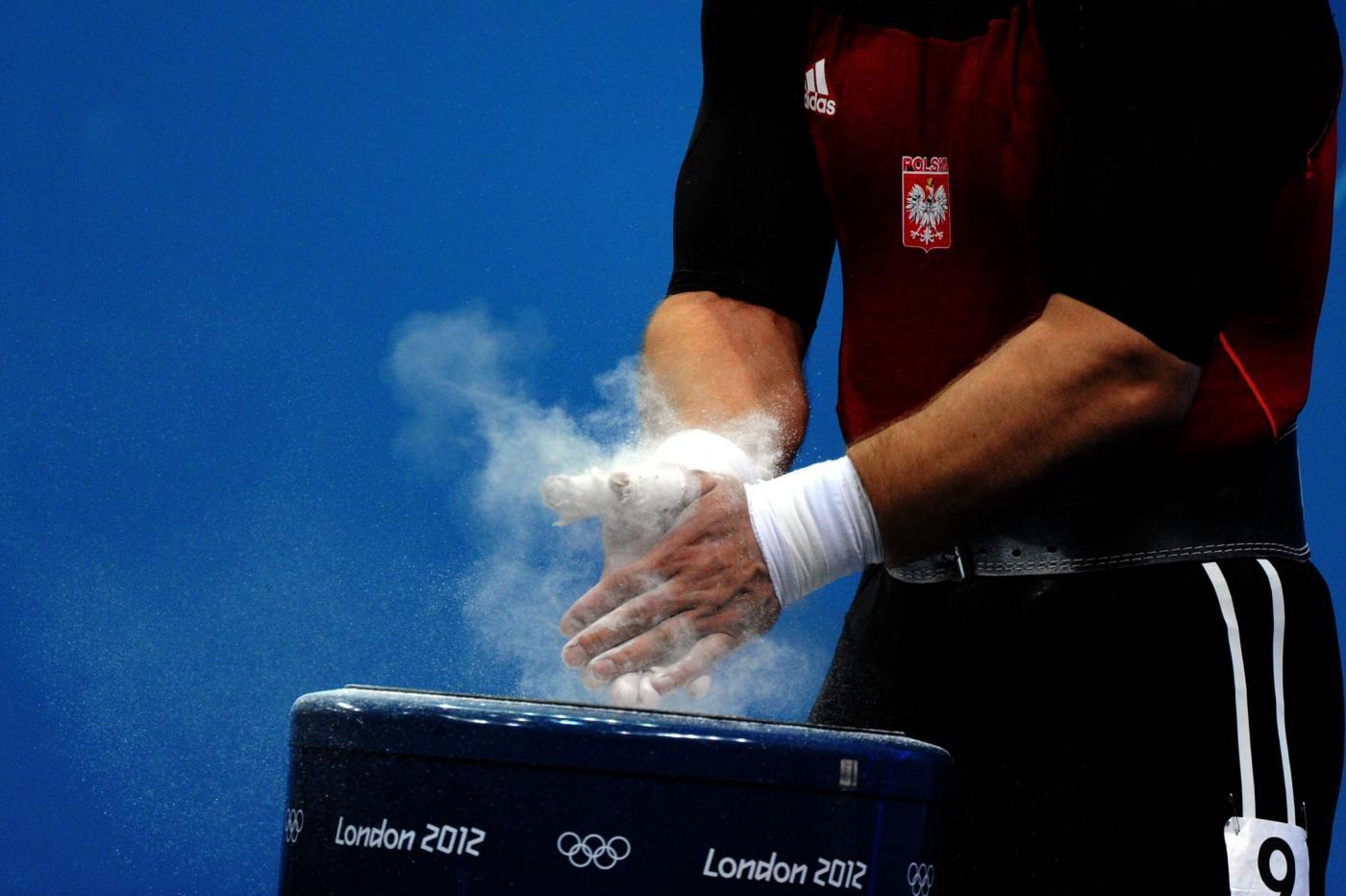 Londra 2012 Sollevamento pesi uomini 105 kg