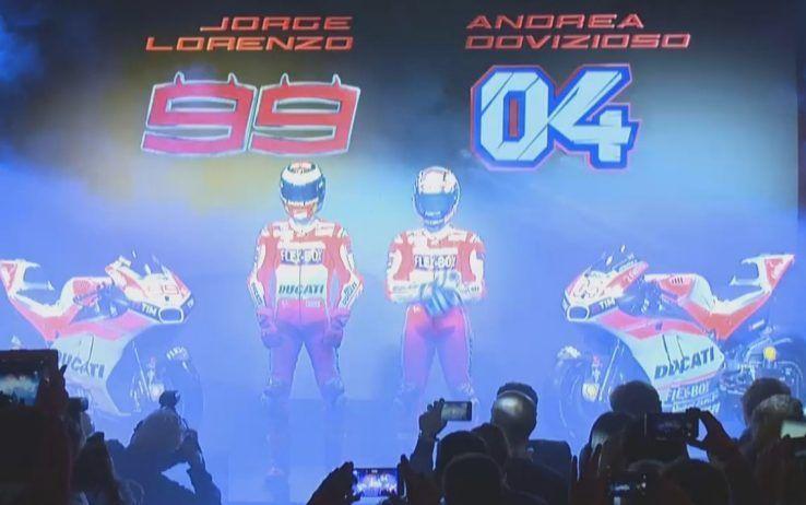 Nuova Ducati DesmosediciGP17: Lorenzo e Dovizioso, Rossa da Mondiale
