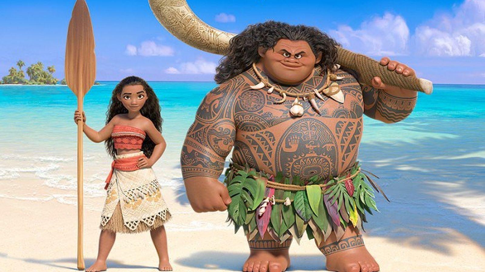 Oceania Vaiana e Maui 3