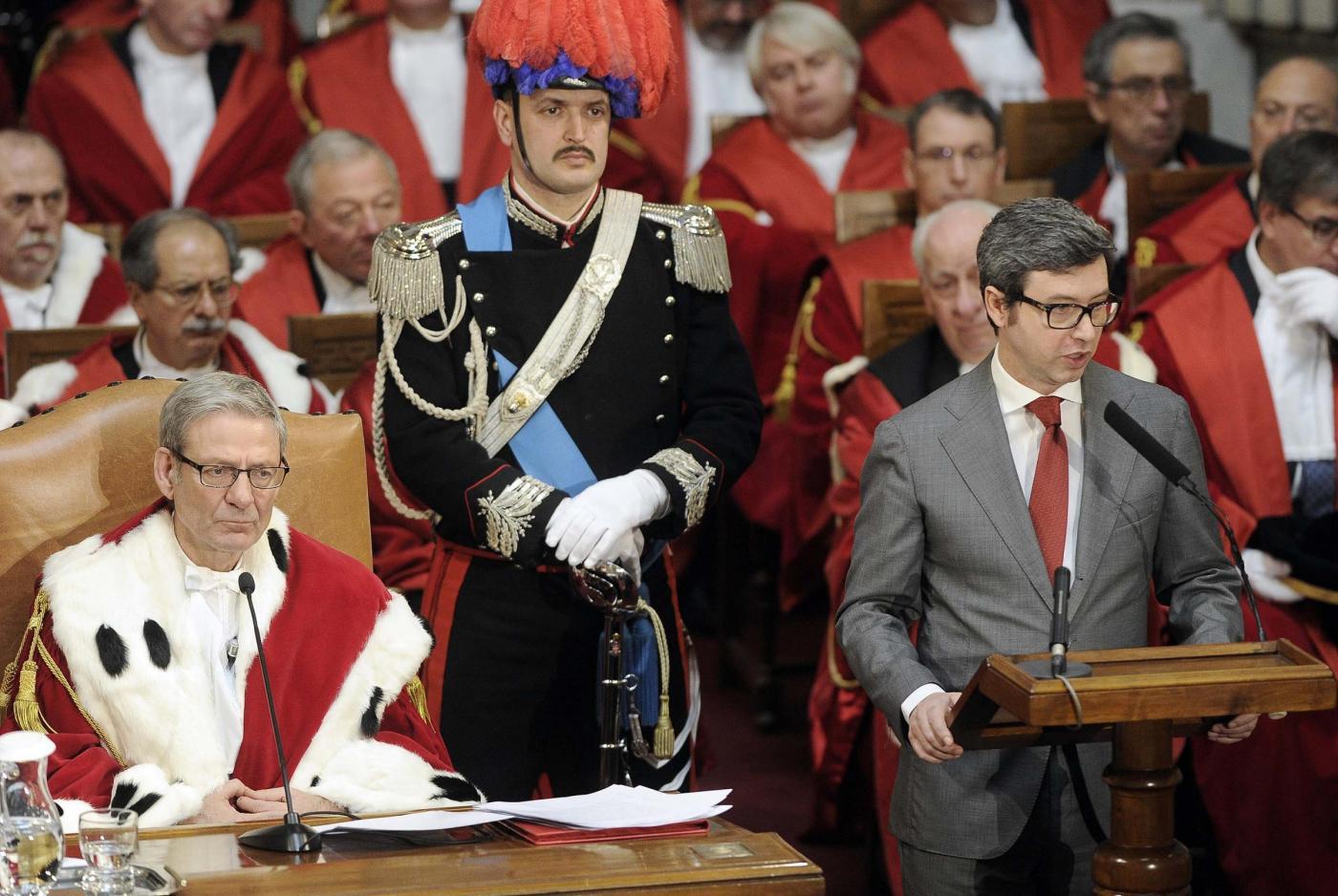 Inaugurazione dell'anno giudiziario in Corte di Cassazione