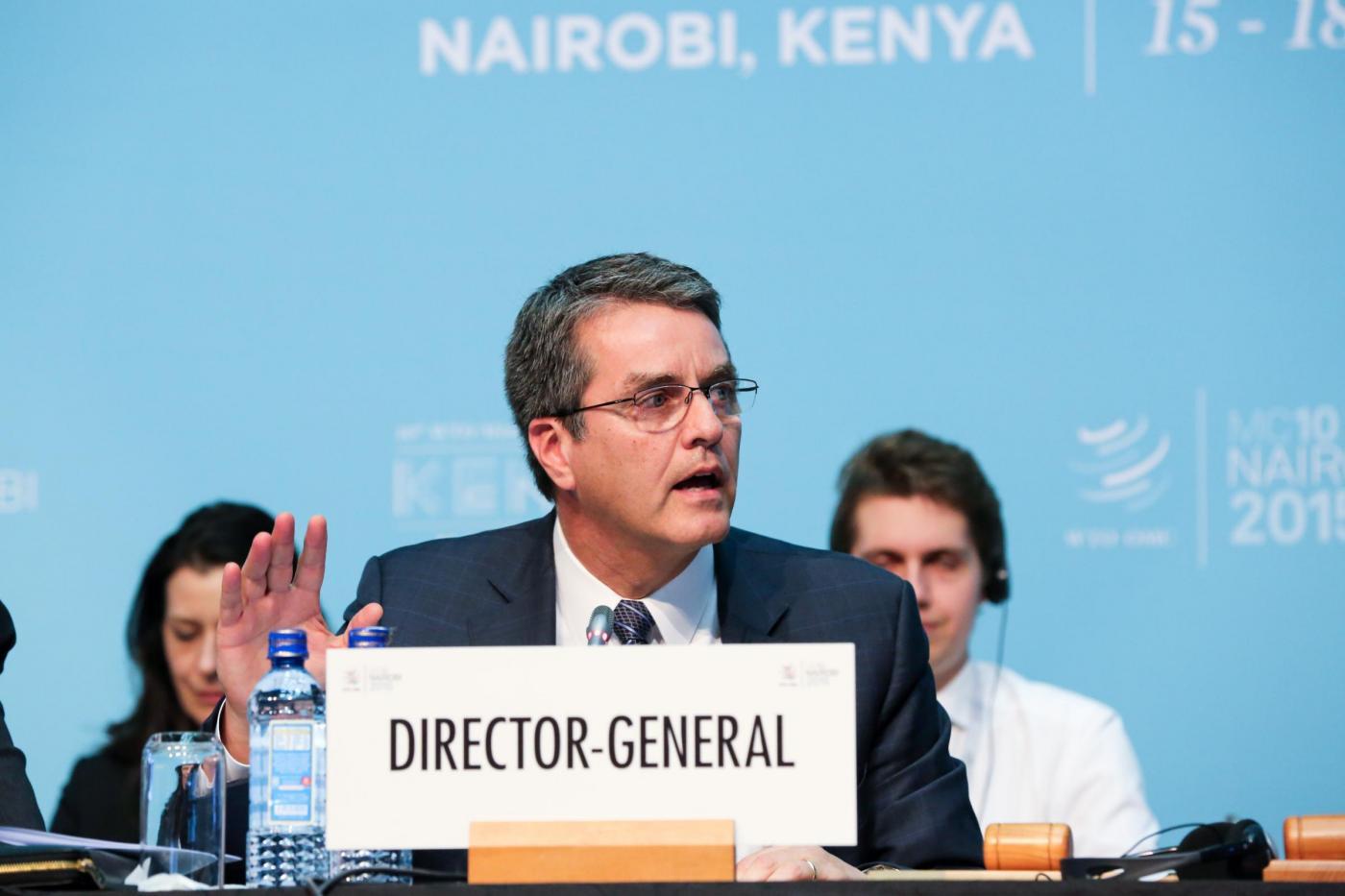 KENYA NAIROBI WTO CONFERENCE CLOSING