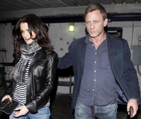 Weisz e Daniel Craig