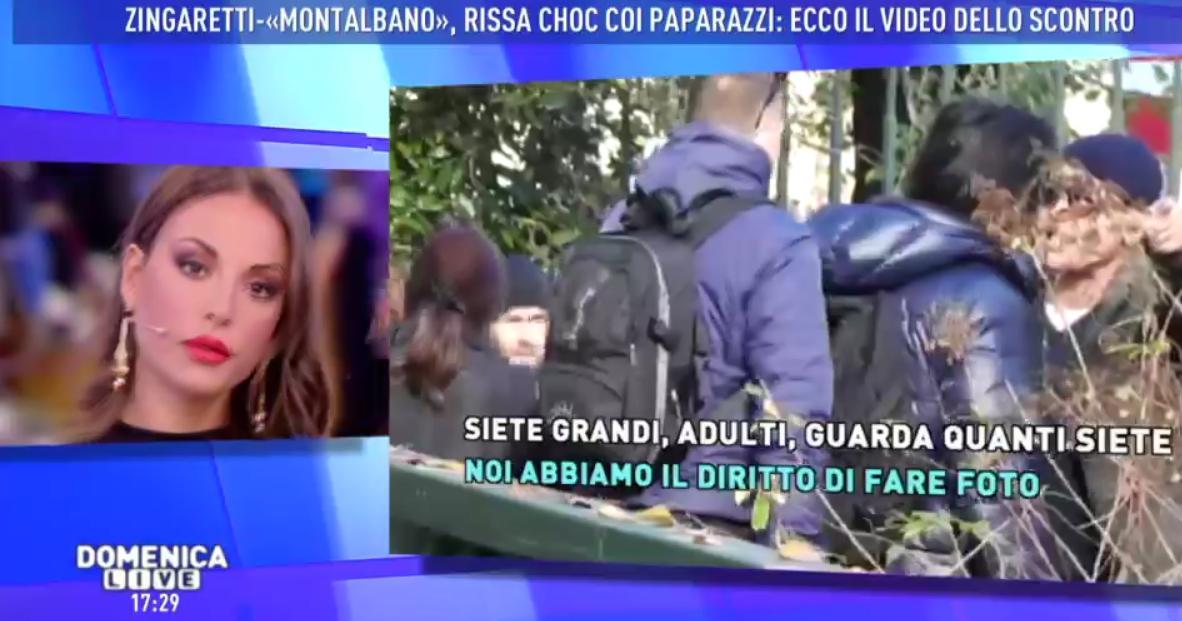 Barbara D'Urso furiosa a Domenica Live contro i paparazzi