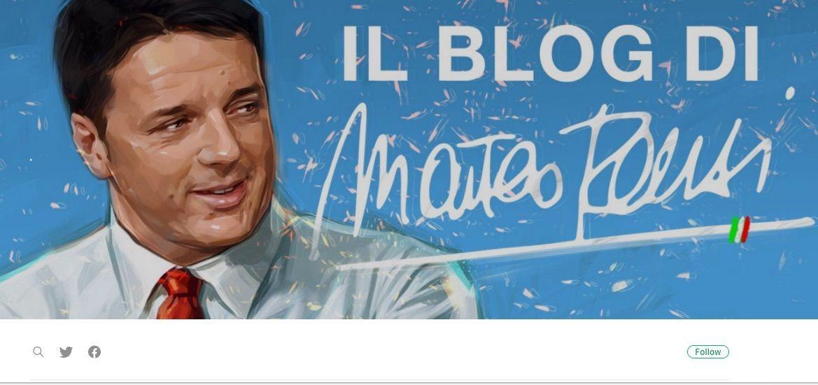 Il blog di Matteo Renzi: 'Il futuro, prima o poi, torna'