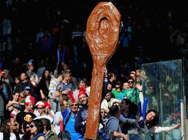 Risultati immagini per italia rugby cucchiaio di legno 2018