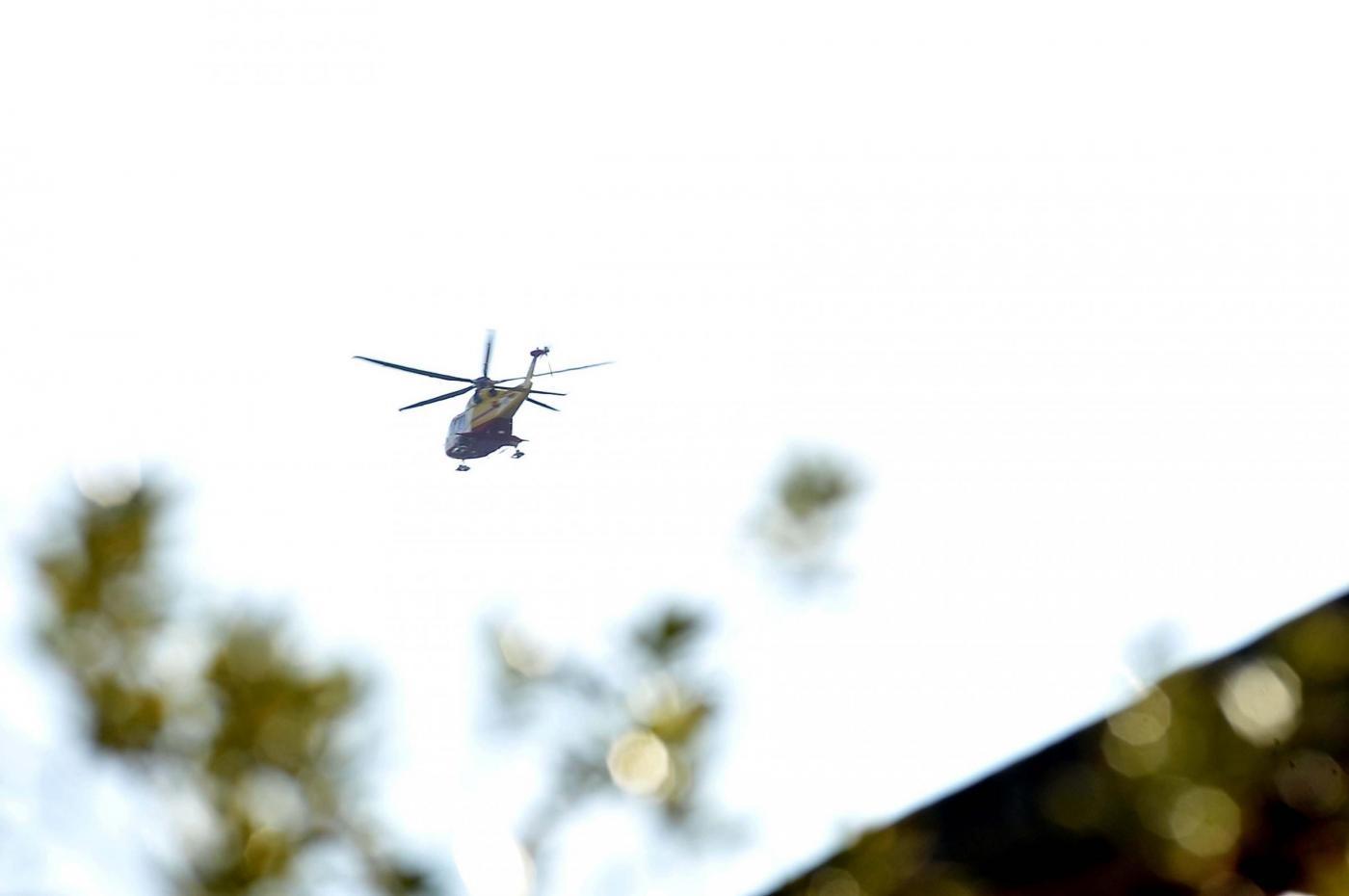 Maltempo in Abruzzo, cade elicottero del 118: terminate le ricerche