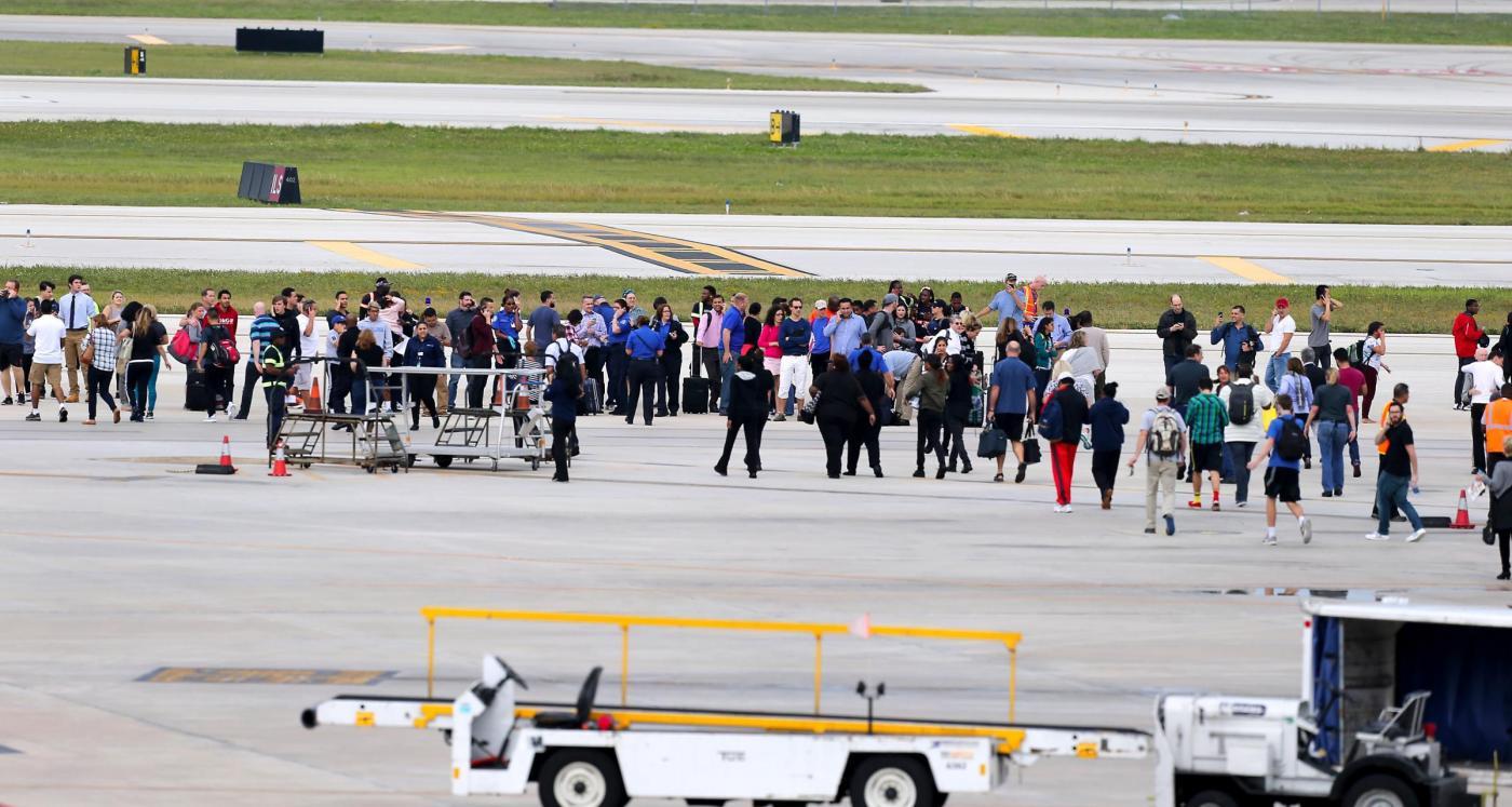 Florida, spari all'aeroporto Fort Lauderdale