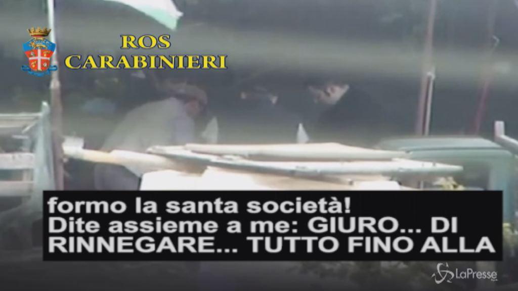 'Ndrangheta, 40 arresti in Lombardia. Ripresa la cerimonia di affiliazione