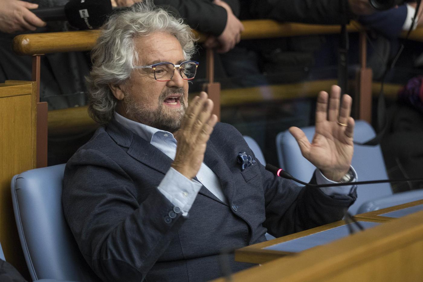 Beppe Grillo al convegno M5S