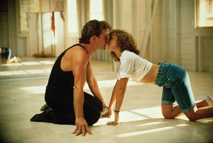 il bacio di dirty dancing