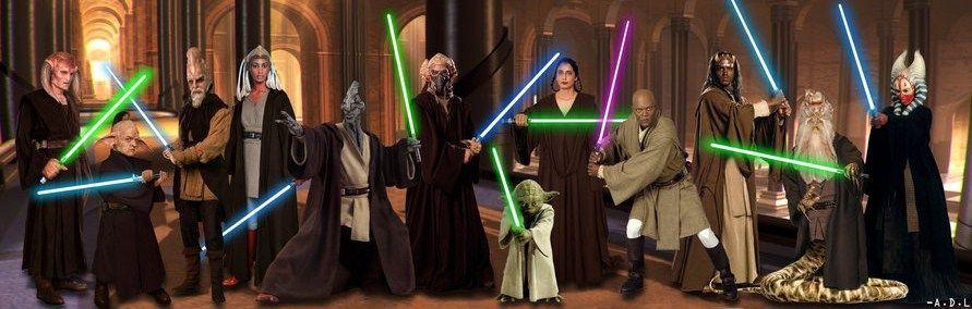 Il consiglio dei Jedi