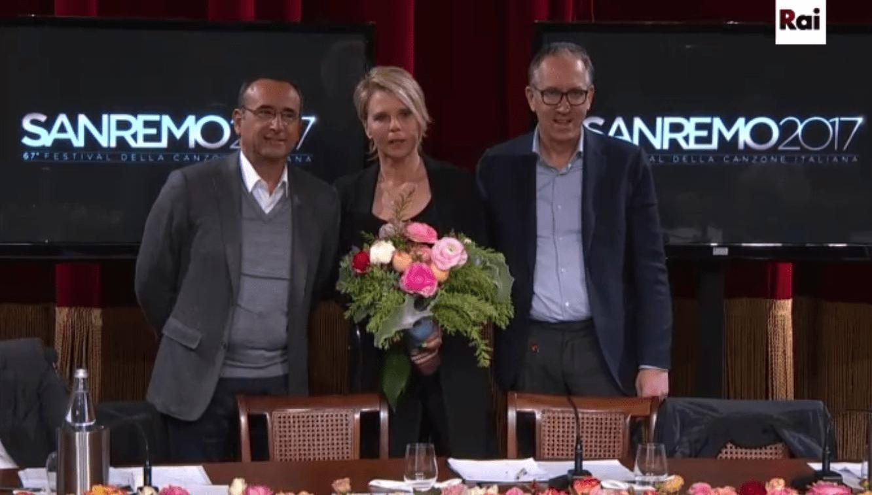Sanremo 2017: Maria De Filippi conduce il Festival con Carlo Conti