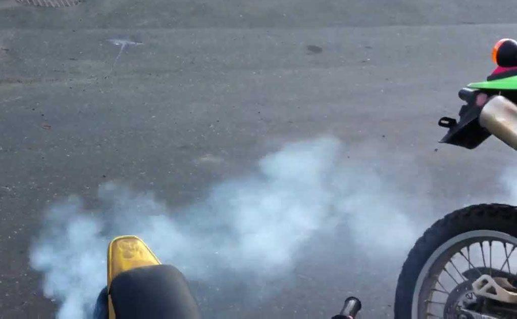 Motore a due tempi emissioni