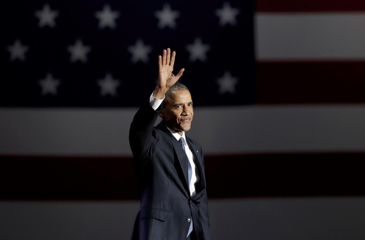 Il discorso di addio di Barack Obama