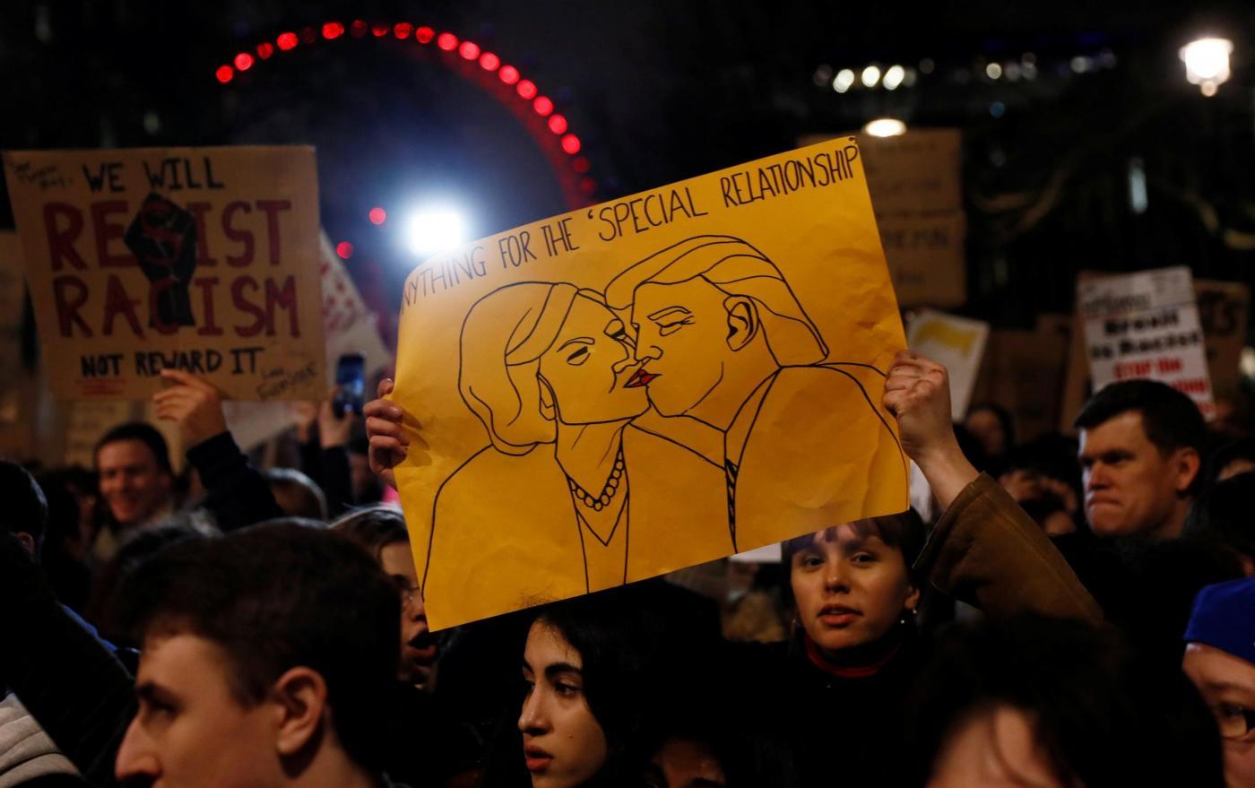 Proteste a Londra