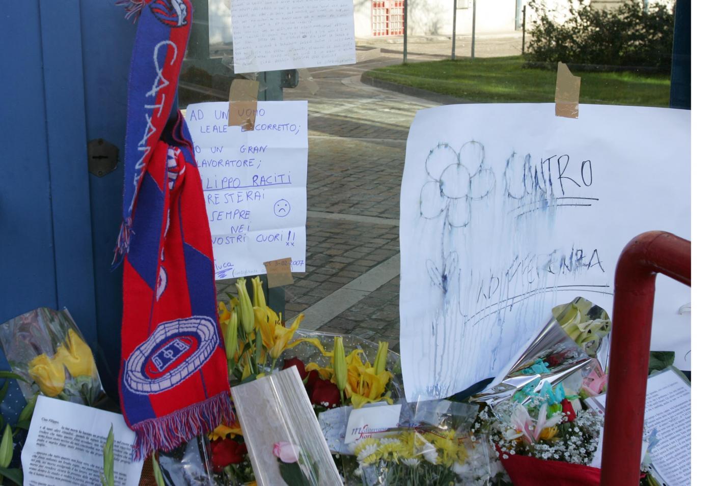 Morte di Filippo Raciti: 10 anni fa il tragico derby Catania-Palermo