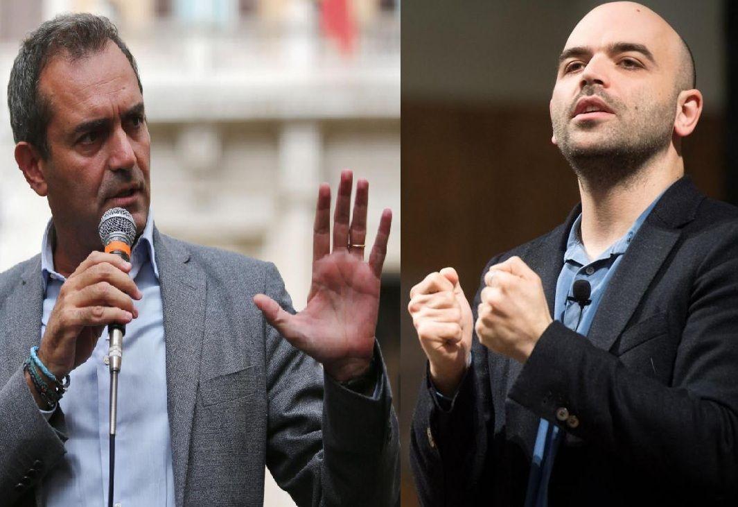 De Magistris contro Saviano: l'ultimo degli scontri tra 'professionisti dell'antimafia'