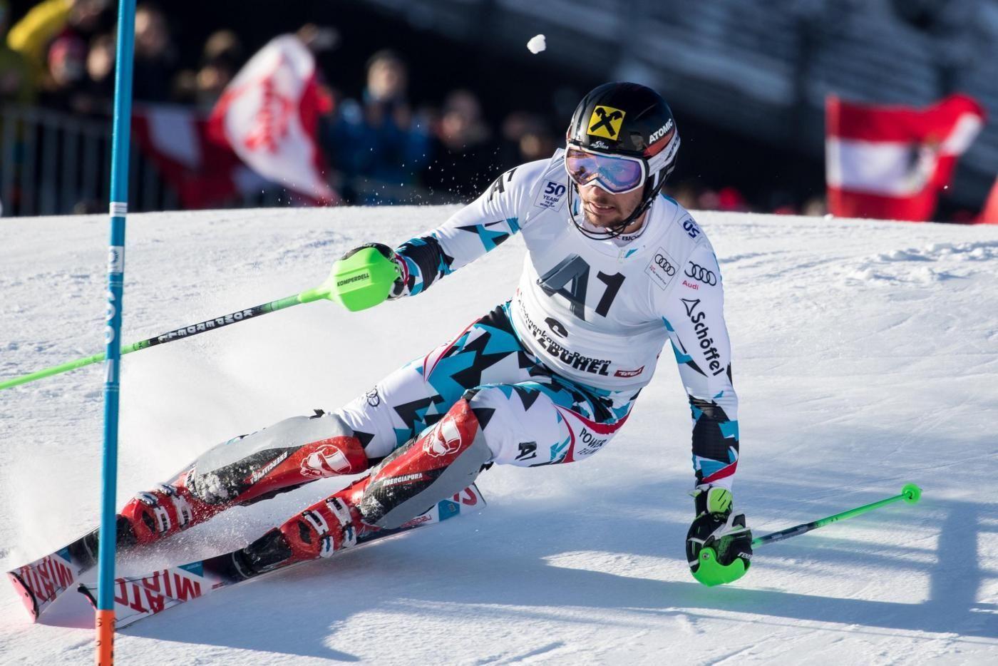 Sci, slalom maschile di Kitzbuehel