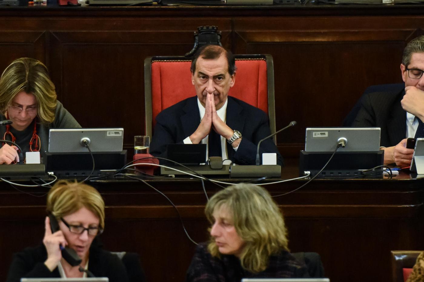 Milano Consiglio comunale con Giuseppe Sala