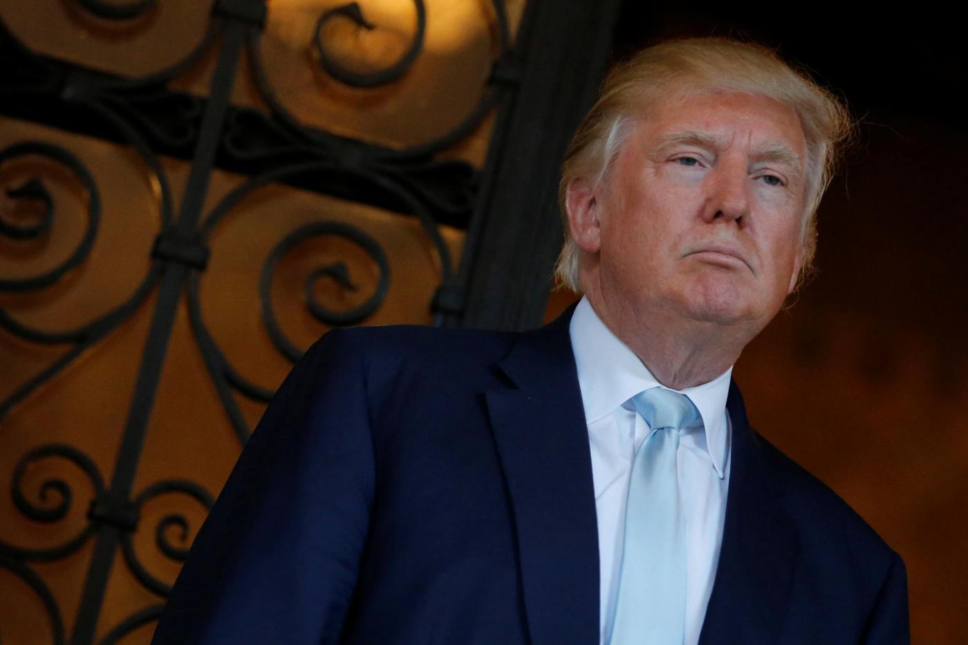 Trump improvvisa conferenza con promoter di boxe Don King