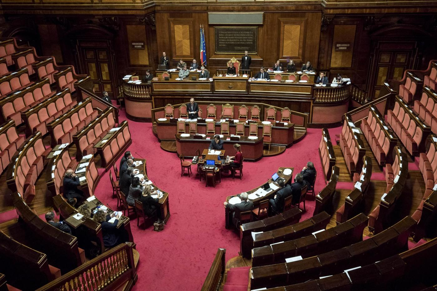 Senato   Question time con il ministro Padoan