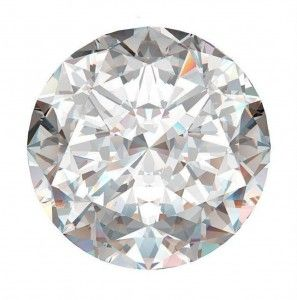 1 Diamante brillante rotondo