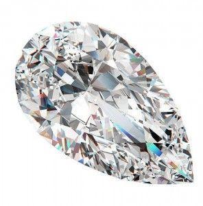 10 Diamante taglio Pera