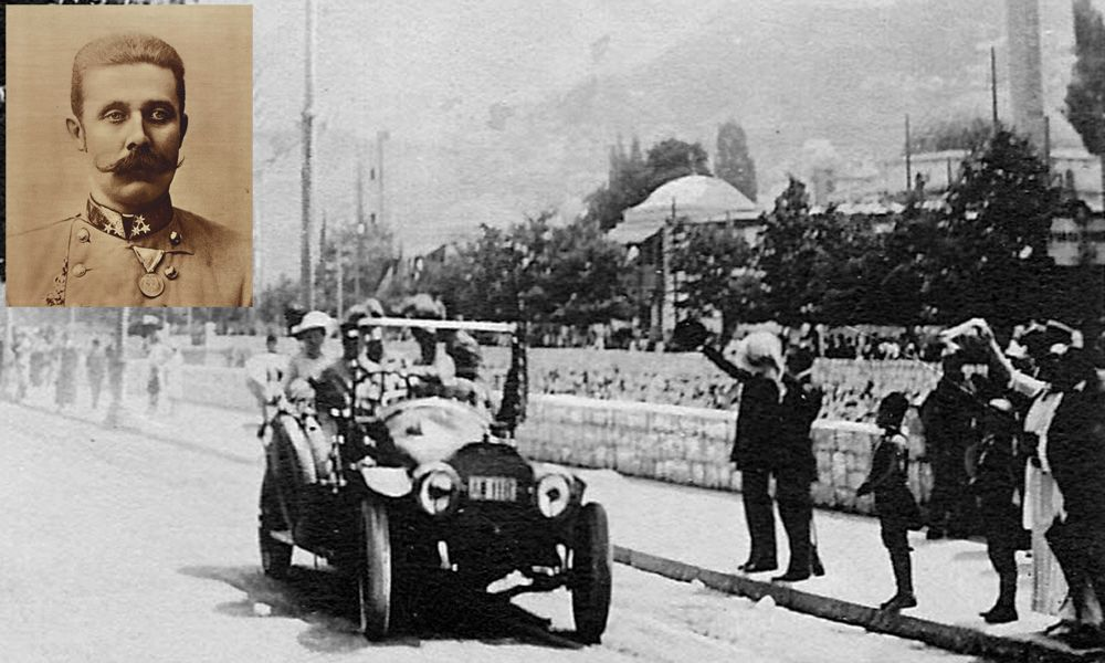 Le auto che hanno fatto la storia della cronaca nera - Graf und Stift attentato Sarajevo grande guerra