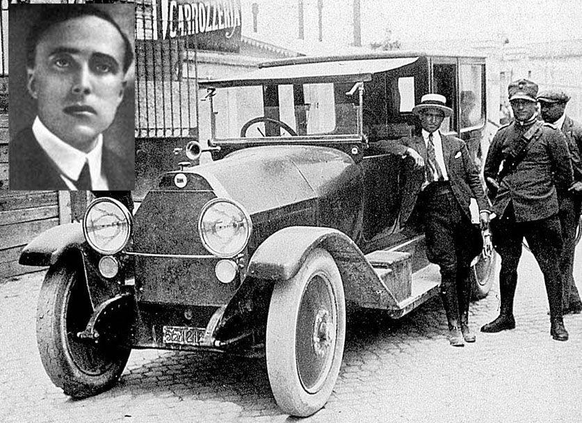 Le auto che hanno fatto la storia della cronaca nera - Lancia Kappa delitto Matteotti