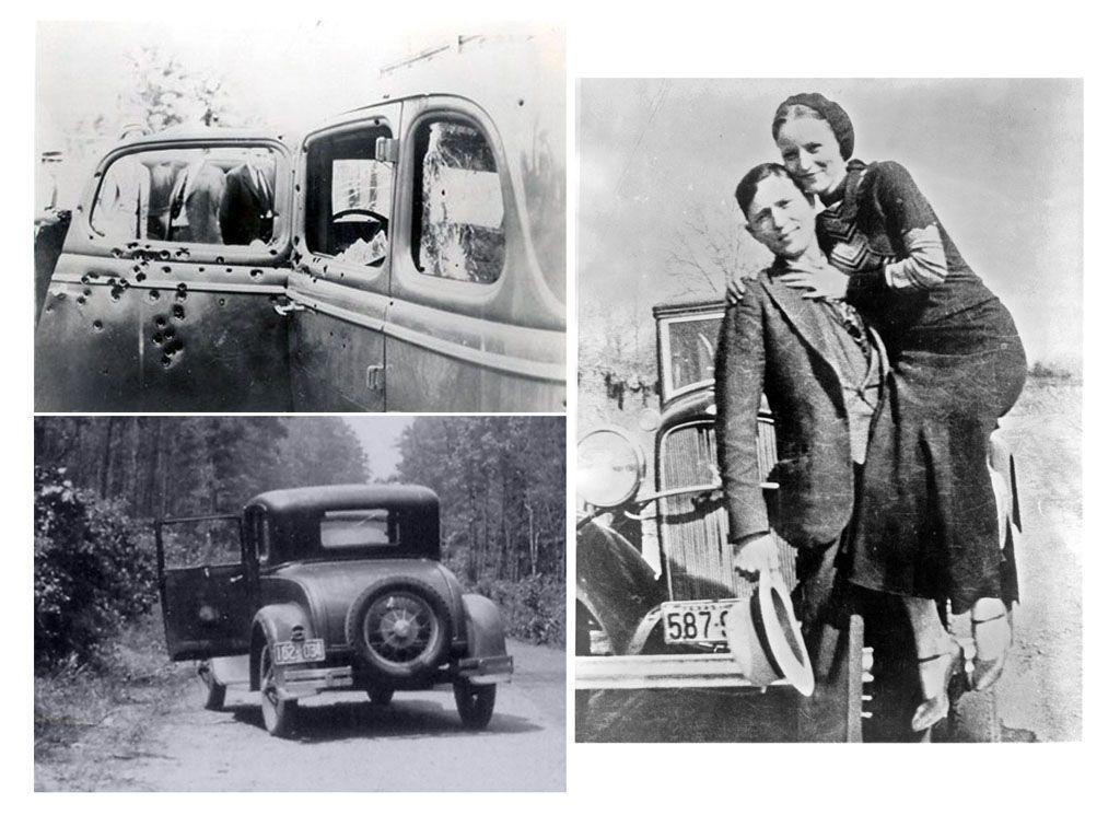 Le auto che hanno fatto la storia della cronaca nera - Ford V8 Bonnie and Clyde