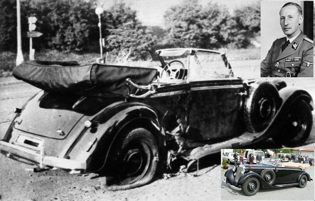Le auto che hanno fatto la storia della cronaca nera - Mercedes 320 B Heydrich