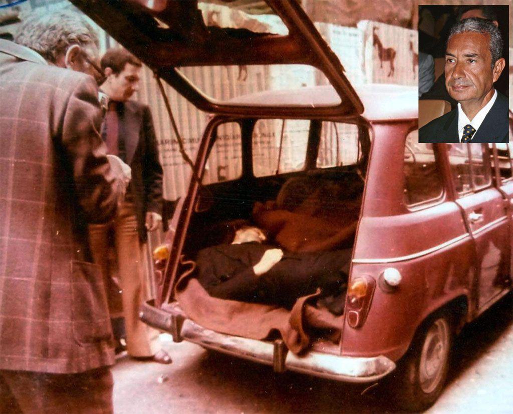 Le auto che hanno fatto la storia della cronaca nera - Renault 4 Aldo Moro