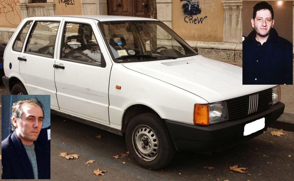 Le auto che hanno fatto la storia della cronaca nera - Fiat Uno banda uno bianca
