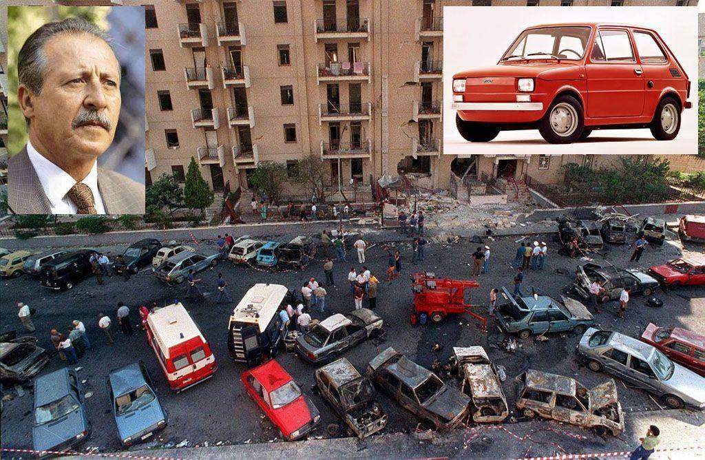 Le auto che hanno fatto la storia della cronaca nera - Fiat 126 Borsellino