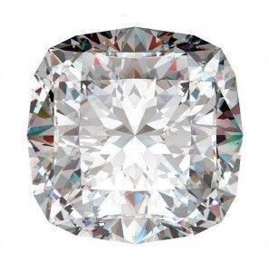 4 Diamante taglio Cushion