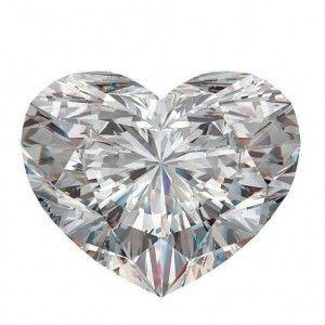 7 Diamante taglio cuore