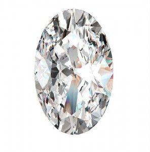 8 Diamante taglio Ovale