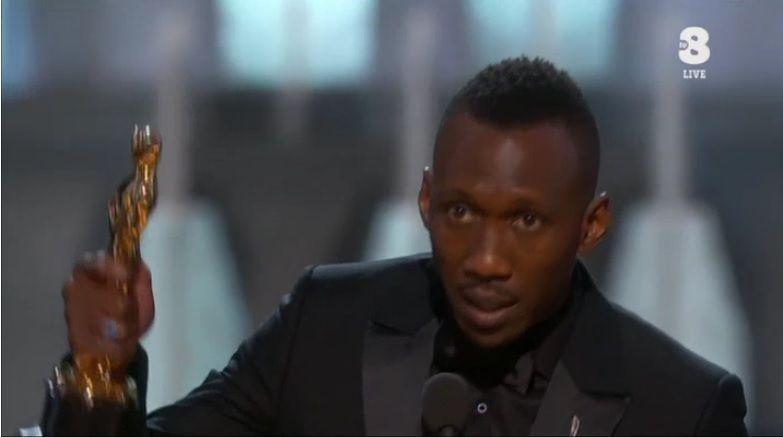 Oscar 2017, Mahershala Ali vince come miglior attore non protagonista con Moonlight