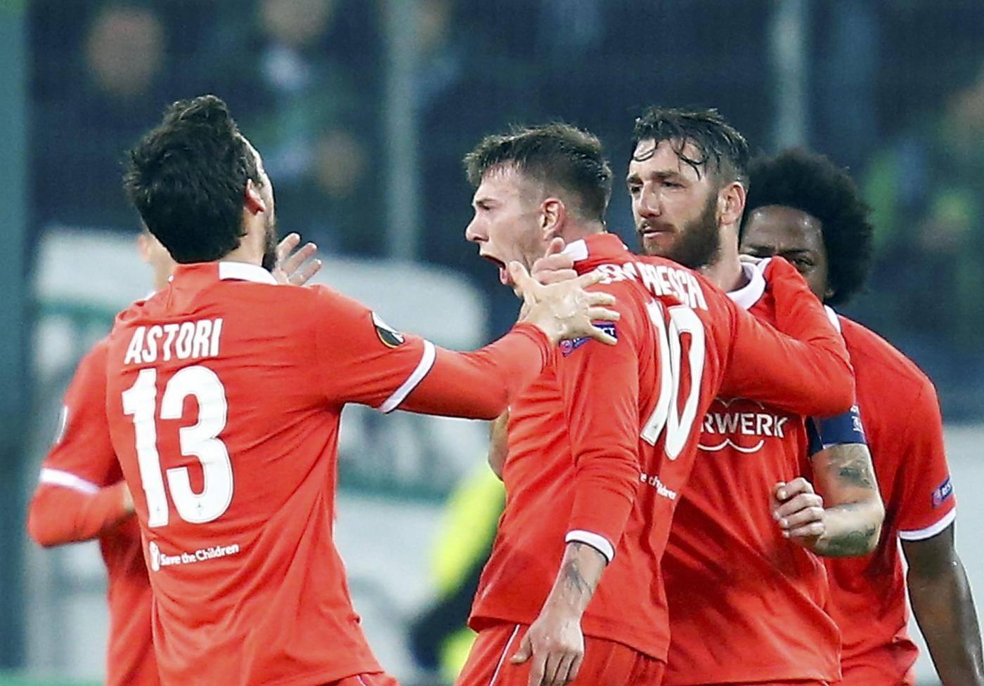 Borussia Moenchengladbach vs ACF Fiorentina UEFA Europa League