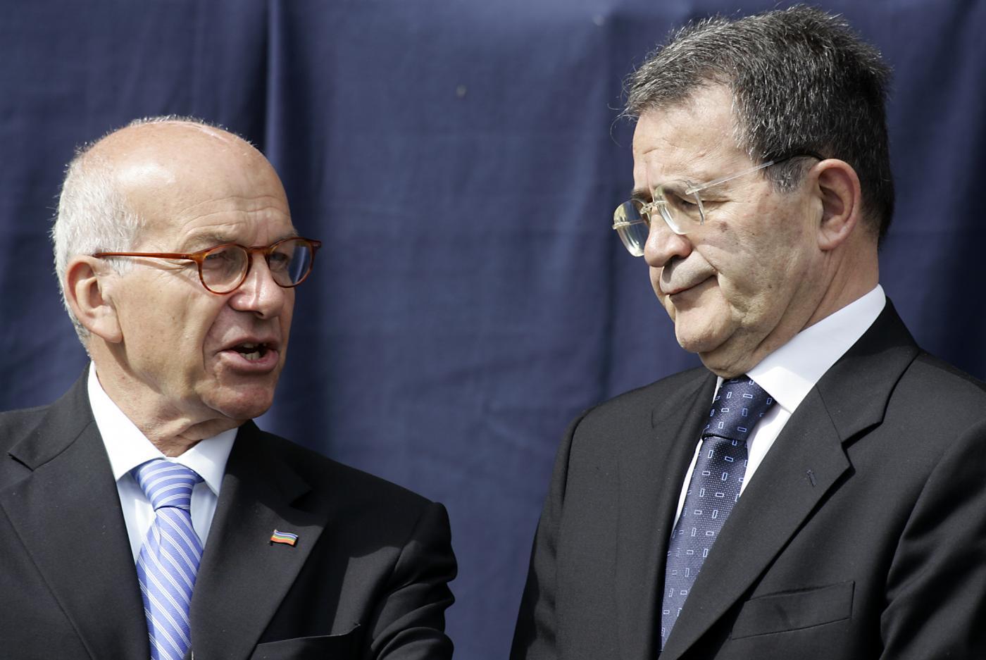 Bertinotti e Prodi