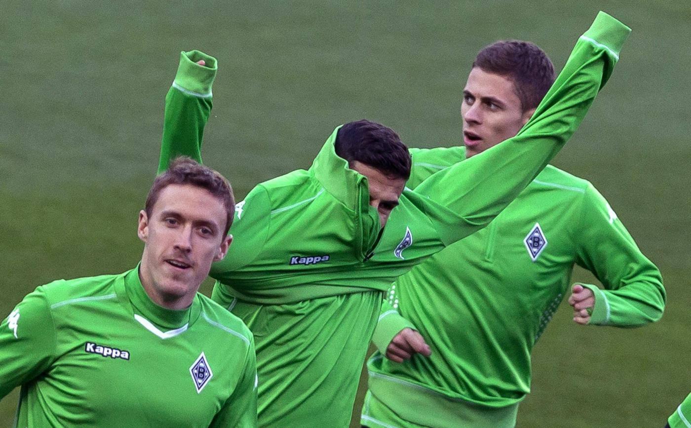 Borussia Moenchengladbach training