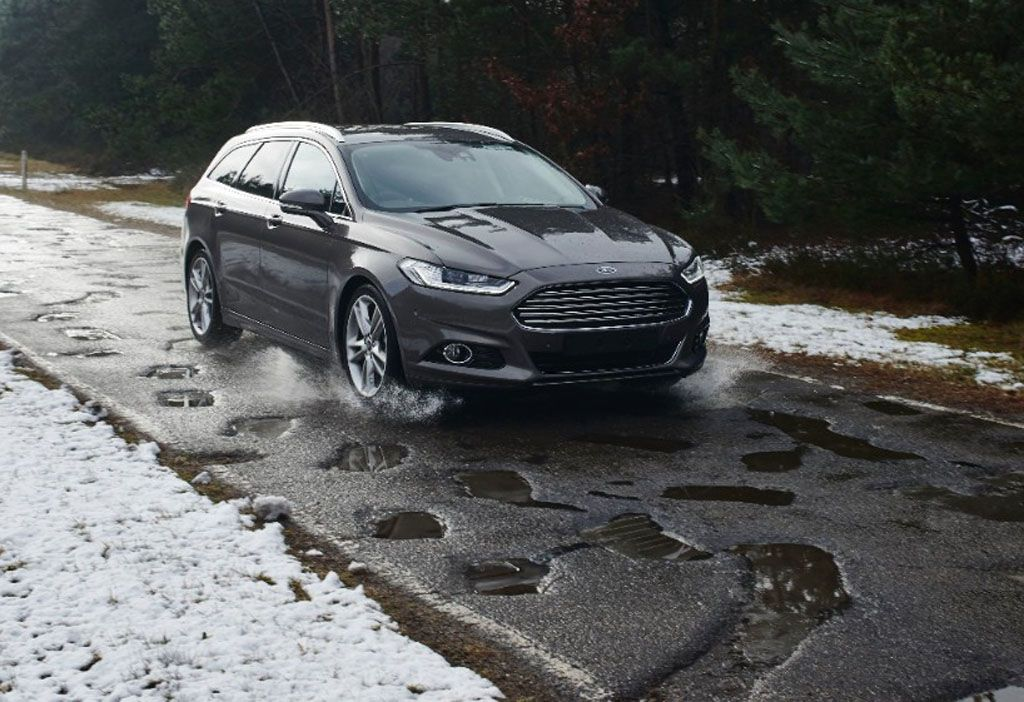 Buche stradali mappa Ford