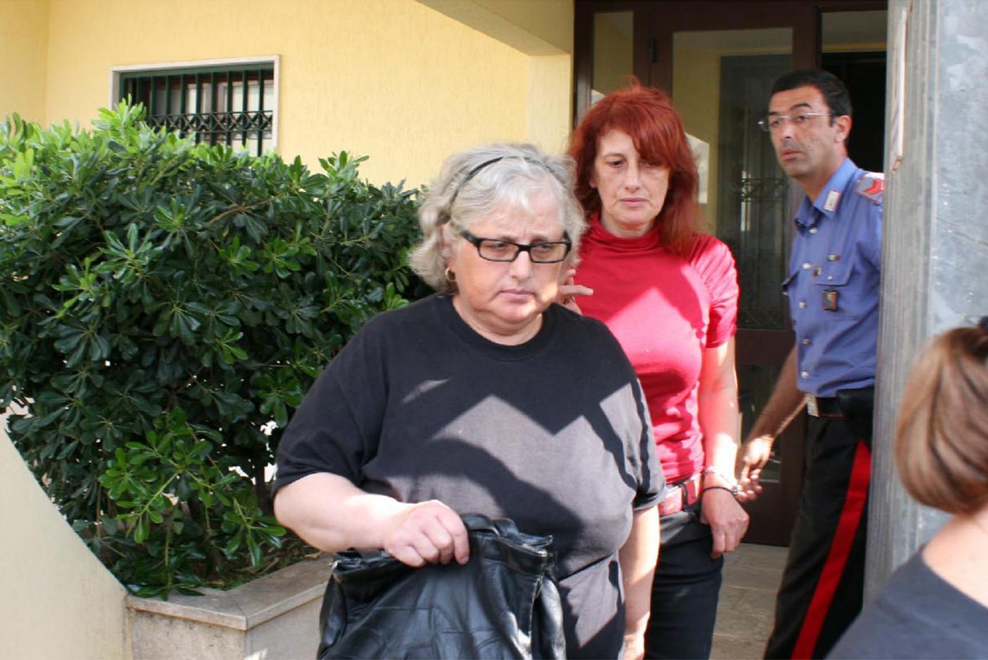 Cosima Serrano e la mamma