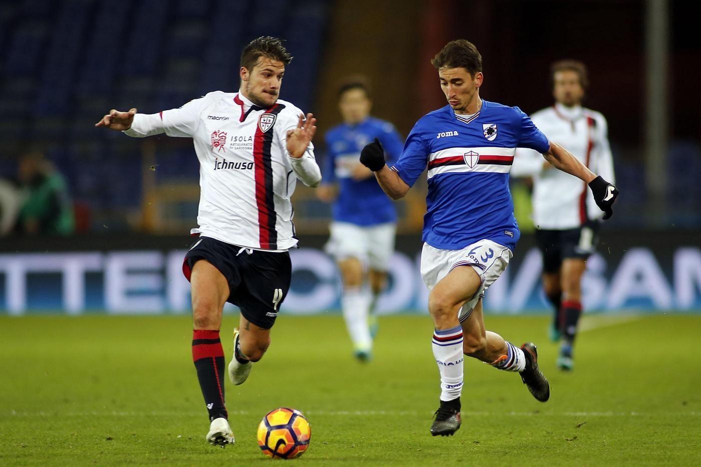 Sampdoria vs Cagliari Coppa Italia Tim 2016/2017