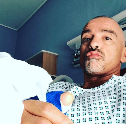Eros Ramazzotti in ospedale: 'Intervento perfettamente riuscito'