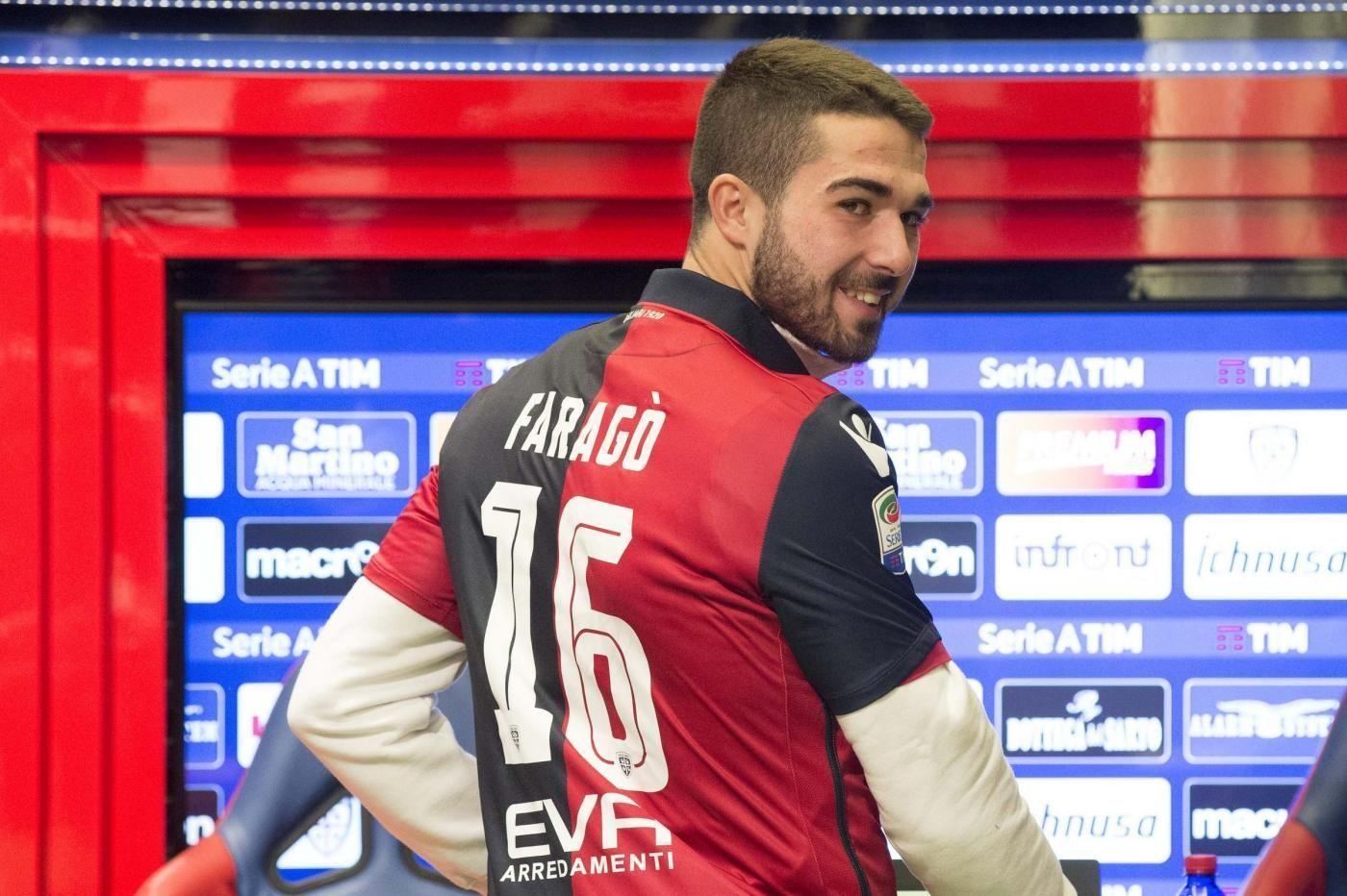 Cagliari Calcio, la presentazione di Paolo Faragò