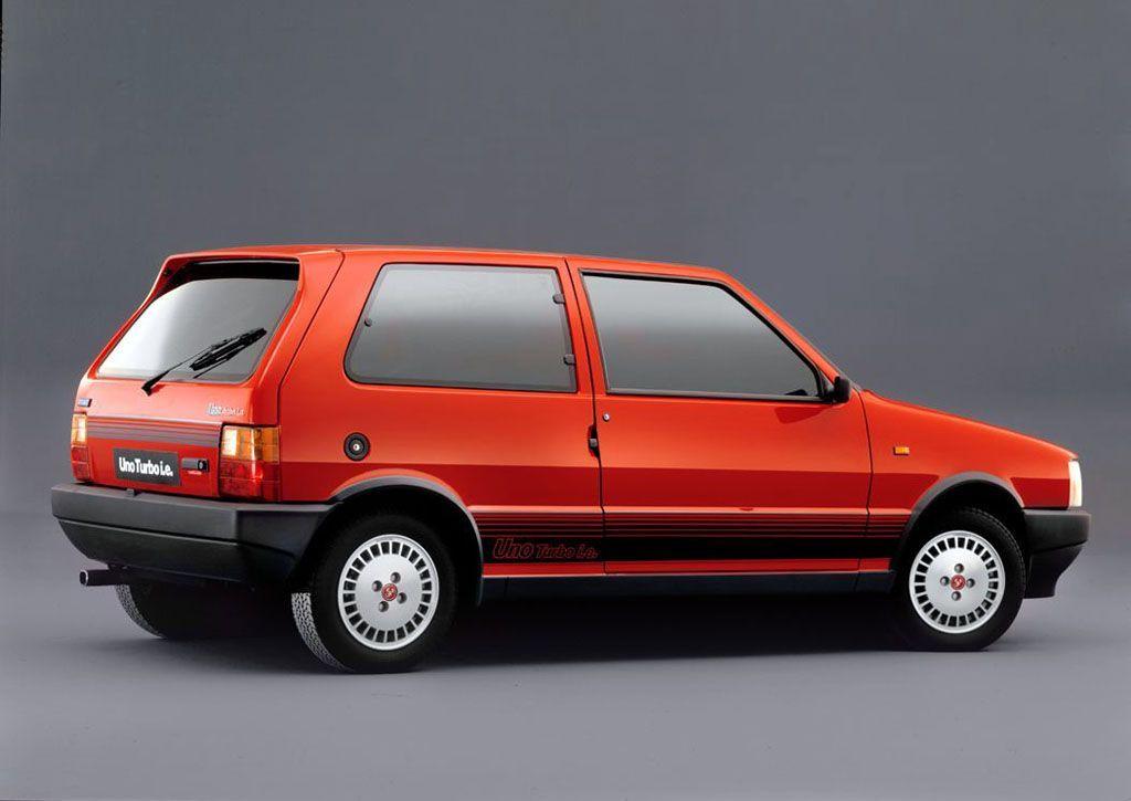 le auto sportive più pericolose -Fiat Uno Turbo 1