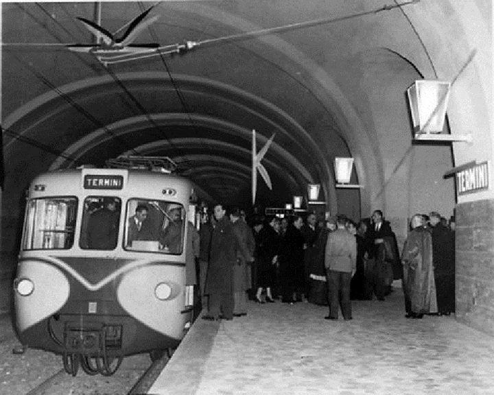 Inaugurazione Metropolitana di Roma