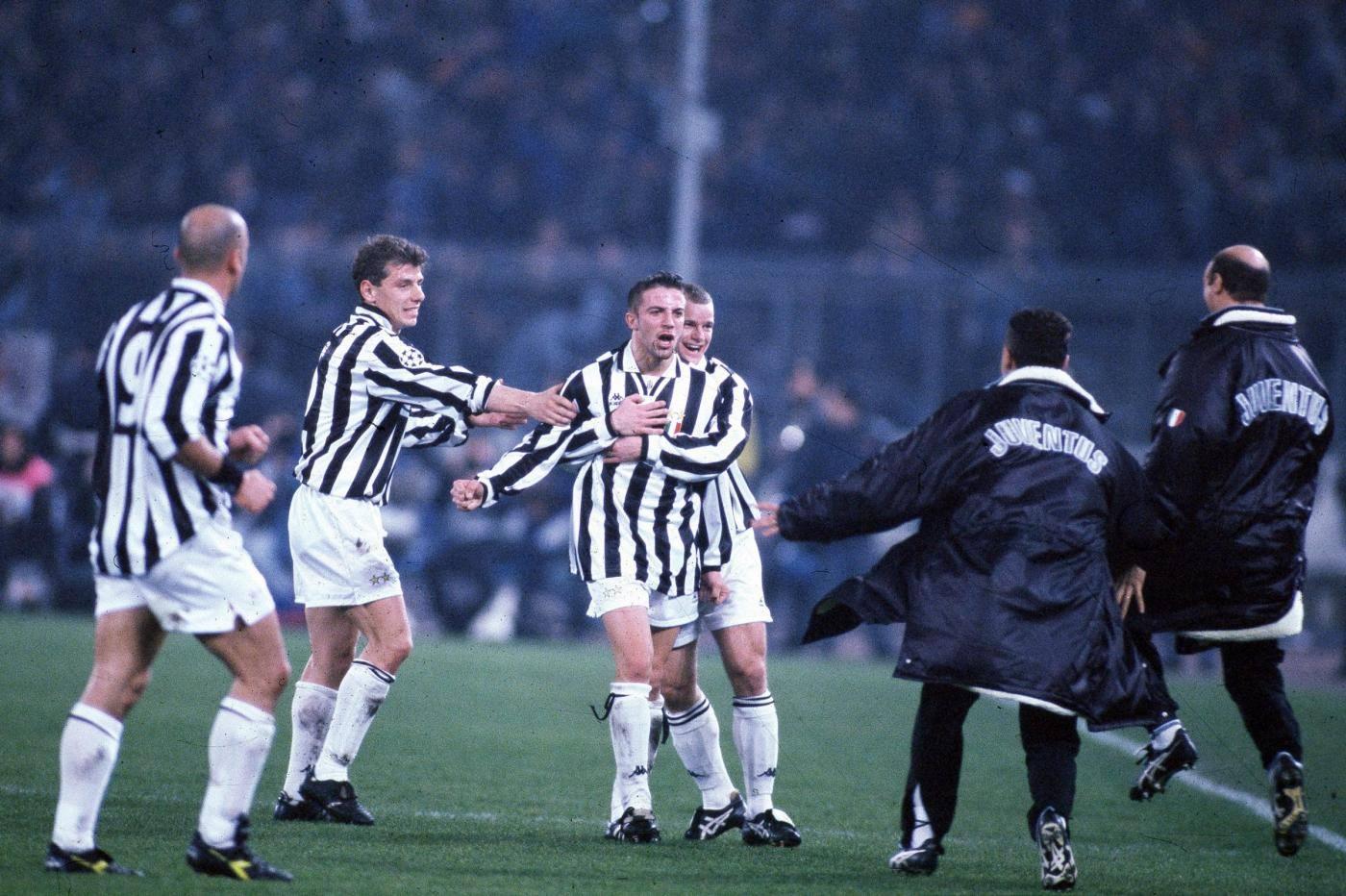 Juventus vs Real Madrid Champions League 1995/1996