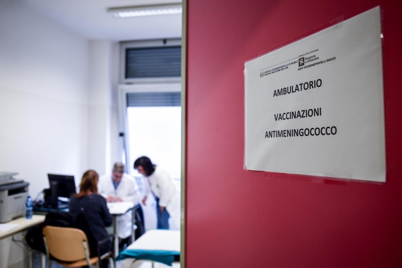 meningite Milano - Lombardia, Vaccino anti meningite Ospedale Fatebenefratelli